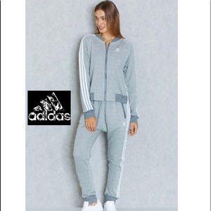 💫ADIDAS RAREOriginals classic 3 stripe track suit